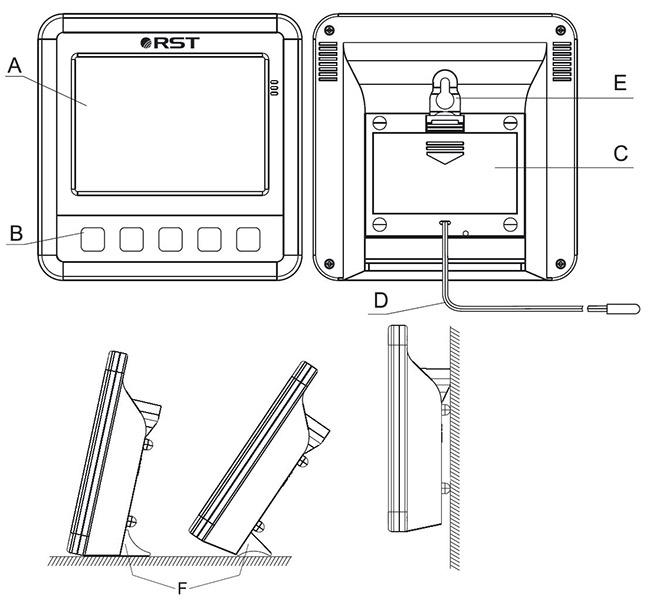 Термометр RST 02401 инструкция